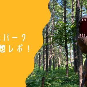 安比恐竜パーク2021感想&口コミ!所用時間と会場の様子も紹介!