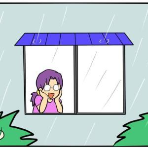 【蝉】蝉恐怖症と雨【少しの癒し】