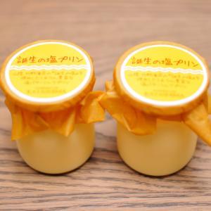 豊岡のケーキ屋「カタシマ KATASHIMA」の「誕生の塩プリン」をいただきました!