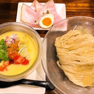 豊岡のラーメン屋「麺や 樂」の夏季限定「つめたいポタージュのつけ麺」をいただきました!