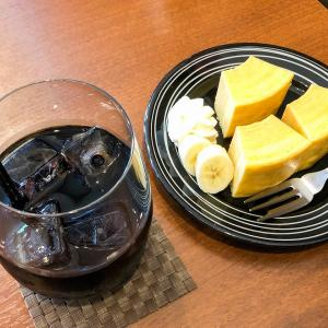豊岡のカフェ「ULURU(ウルル)」の水出しコーヒーとバームクーヘンをいただきました!
