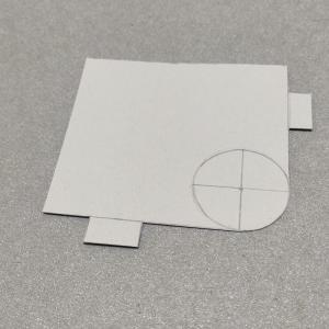 角丸R2型紙の作り方&使い方