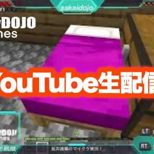 Minecraft YouTube初ライブ!