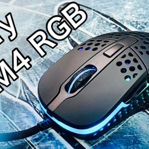 【徹底レビュー】Xtrfy M4 RGB!軽くて使い易いハニカム構造の最強ゲーミングマウス!