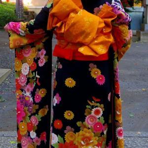 奥さんは和装が似合います (*^^*)
