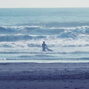 【サーフィン・パドル】オバケセットが来た!初心者ならどうする?