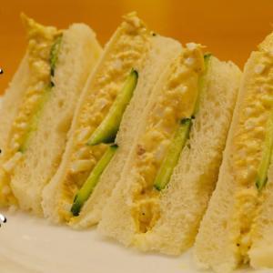 シーチキンと玉子のサンドイッチ【ツナたまサンド】の作り方