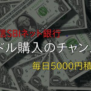 米ドル購入のチャンス~禁酒56日目~