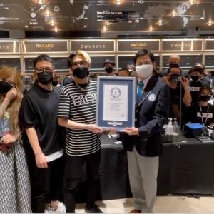 【みんなで勝ち取った軌跡】メガネが売れた本数でギネス世界記録™達成しました!!!