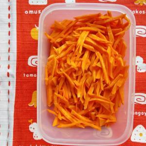 収穫した野菜を食べる(9月16日)