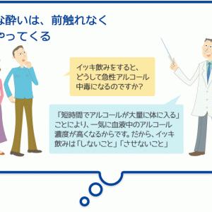 中毒(急性アルコール中毒①)