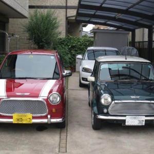 ローバーミニは日本車ではなく外車(イギリス車)です