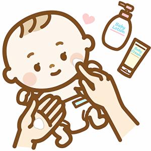 【乾燥・アトピー肌の子供から大人まで】市販の肌に優しい『ベビーミルク・ローションポンプ型』をご紹介