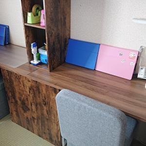 ニトリの【カラボ】で子ども用勉強机作ってみた【DIY】入学・テレワークに☆