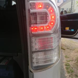 DIY 車検に通らず リアテールランプ交換 2万円以上も節約できました♪