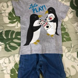 息子の服GET✨