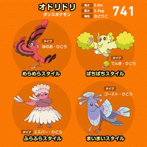 【ポケモンホーム用】幻のポケモンと姿違いが存在するポケモン