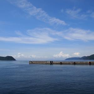 四国最西端の岬、佐田岬半島でしらす丼
