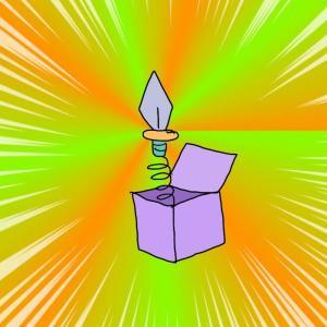 しゃっくりどめびっくり箱