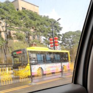 開封市の路線バス、乗ればどこへでも行けるよ~\(^o^)/(たぶん(笑))