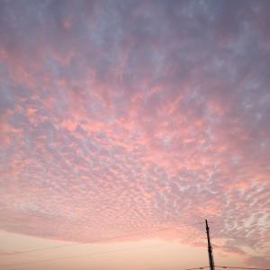 中国河南省開封市の空、雲の表情 七変化~☆