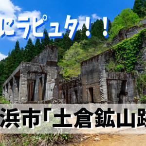 まさにラピュタ!滋賀にラピュタがあると話題の「土倉鉱山跡」