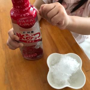 【かき氷機】夏は毎日アイス食べたい…けどかき氷で節約生活!【乳アレルギー】