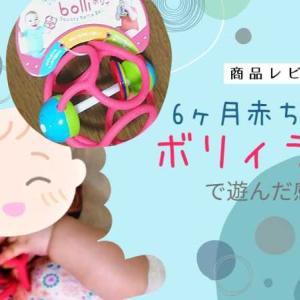 【レビュー】娘とボリィラトルで遊んでみた【赤ちゃんのおもちゃ】