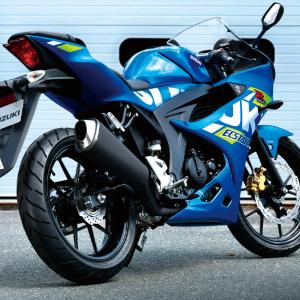 【おススメの原付二種】国産最強の125cc(GSX-R125 ABS)