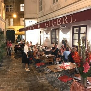ウィーンの元祖シュニッツェルとホイリゲの素敵な夜。(2021年9月)