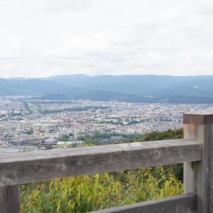 ポリフェノールさんの京都散歩 将軍塚青龍殿からの京都の街並み
