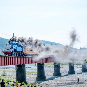 リアル機関車トーマスが走る!情緒あふれる大井川鐵道を撮りました。