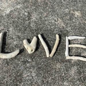 徳光海岸モニュメント#LOVE