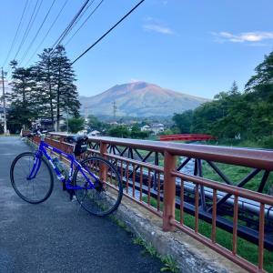 軽井沢早朝サイクリング