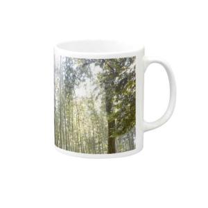 *マグカップ*京都、竹林の小径
