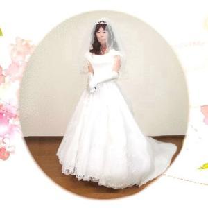 花嫁の気分で女装