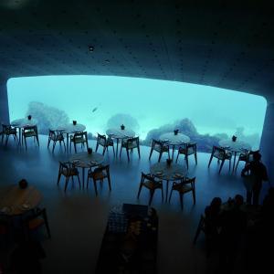 【海中レストラン】ノルウェーの海に沈んだレストランUnder体験記