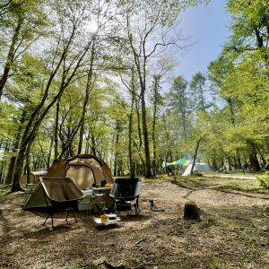【村営山中湖キャンプ場】体験レポート
