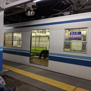 六実駅にて
