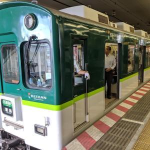 朝の京阪線