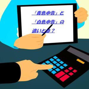 【難解用語2】確定申告する際に必要な『青色申告』と『白色申告』の違いについて
