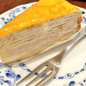 【絶品】ドトールで人気のミルクレープケーキを実食レポ!新味白桃ミルクレープも