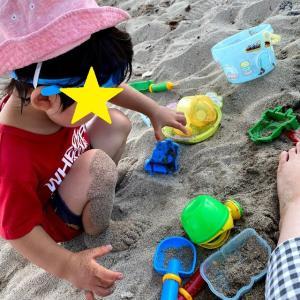 海に子供と行くときに準備したもの