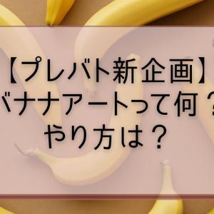 【プレバト新企画】バナナアートって何?やり方は?