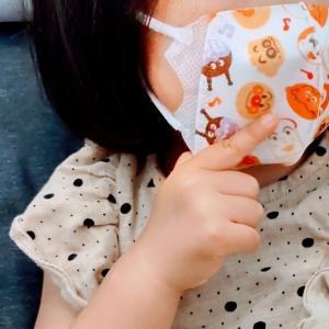 【育児日記&ごはんの記録】1歳の娘がマスクをするようになった特別な日★2021年7月24日