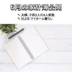【6月】家計簿を初公開!