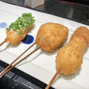 【天神】立地・コスパ・味が最高の大丸福岡にある「京風串揚げ 喝(かつ)」