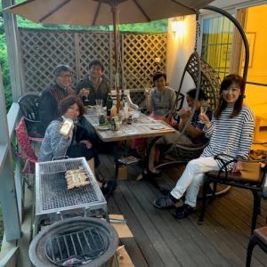 首都圏からの長野移住者&二拠点生活者のBBQパーティ♪