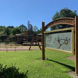 軽井沢・夏の湯川ふるさと公園お散歩日記(1)