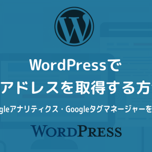 WordPressでIPアドレスを取得する方法【Googleアナリティクス・Googleタグマネージャーがおすすめ】